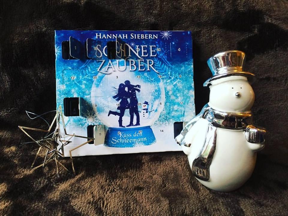 Buch Schneezauber - Küss den Schneemann - Weihnachtskalender