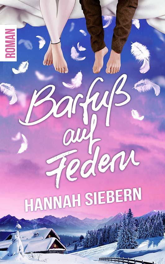 Buchcover Barfuß auf Federn von Hannah Siebern